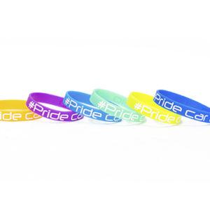 Браслет Pride Наручный Силиконовый браслет с логотипом