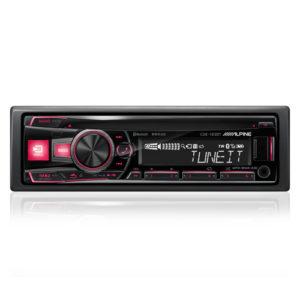Автомобильная магнитола с CD MP3 Alpine CDE-183BT