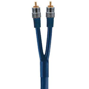 Межблочный аналоговый аудио кабель 2RCA - 2RCA DAXX R52-25 (2,5 метра)