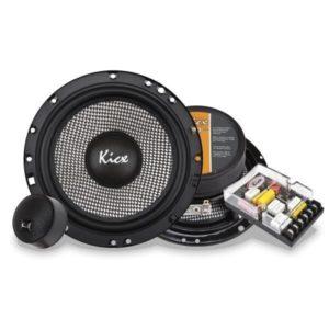 Купить акустика kicx GFQ-6.2 2-х полосные компонентные системы с диффузором из плетеного стекловолокна. Екатеринбург.