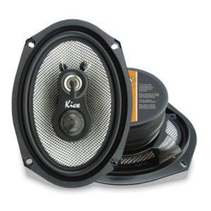 Купить акустика kicx GFQ-693 3-х полосные коаксиальные аудиосистемы с диффузором из плетеного стекловолокна. Екатеринбург.