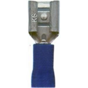 FDV 2-250, разъем штекерный, плоский «мама»