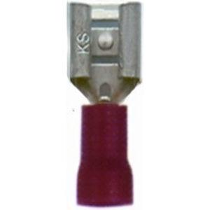 FDV 1-110, разъем штекерный, плоский «мама»