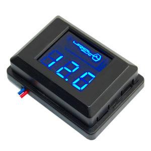 Фирменный вольтметр URAL (Урал) DB Voltmeter (синяя подсветка)