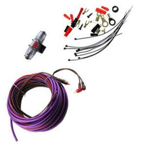Профессиональный комплект кабелей и аксессуаров для установки 2-канального усилителя URAL (Урал) 8Ga-BV2KIT