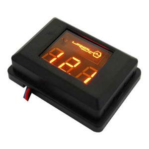 Фирменный вольтметр URAL (Урал) DB Voltmeter (оранжевая подсветка)