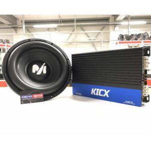 """""""Басуха на повседнев"""" Самые известные и проверенные бренды в мире автозвука, сабвуфер Alphard machete Sport M12 D2 + усилитель KICX AP 1000D. Цена за комплект- 13790 р."""
