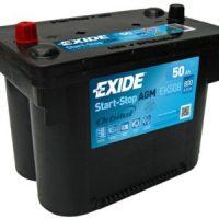Аккумулятор Exide 50Ah 800A
