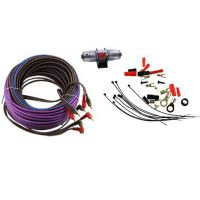 Профессиональный комплект кабелей и аксессуаров для установки 4-канального усилителя URAL (Урал) 8Ga-BV4KIT