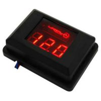 Фирменный вольтметр URAL (Урал) DB Voltmeter (красная подсветка)