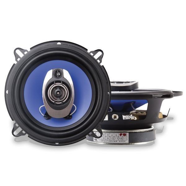Купить акустика kicx TL-130S 2-х полосные коаксиальные аудиосистемы с диффузором из полипропилена Екатеринбург.