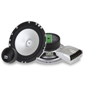 Купить акустика kicx ALQ-6.2 2-х полосные компонентные системы с диффузором из чистого профилированного алюминия. Екатеринбург.