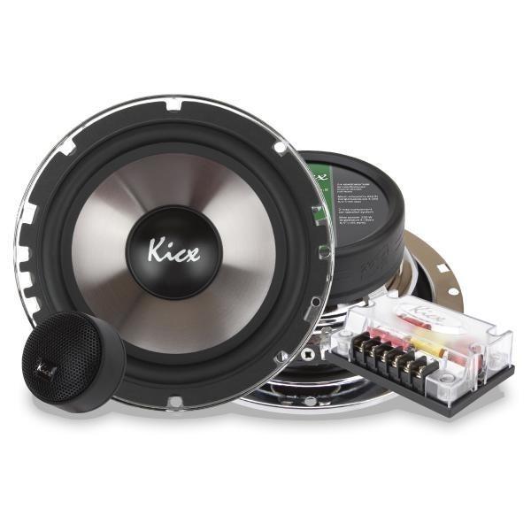 Купить акустика kicx ICQ-6.2 2-х полосные компонентные системы c высококачественным металлизированным диффузором инжекционного литья Екатеринбург.