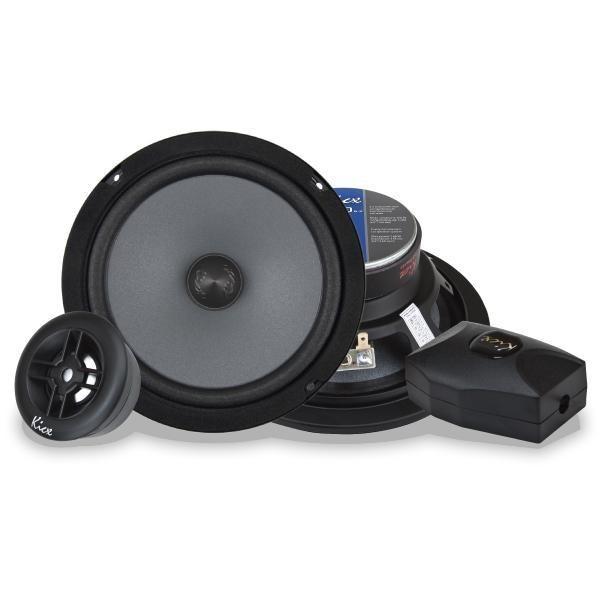Купить акустика kicx STQ 6.2 2-х полосные компонентные аудиосистемы c диффузором из прессованной целлюлозы с добавками хлопкового волокна Екатеринбург.