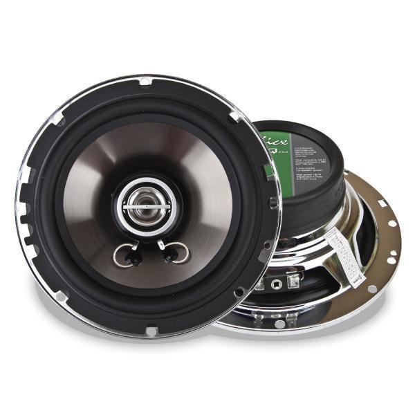 Купить акустика kicx ICQ-652 2-х полосные коаксиальные аудиосистемы с высококачественным металлизированным диффузором инжекционного литья. Екатеринбург.