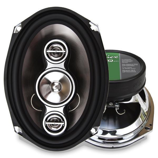 Купить акустика kicx ICQ-694 4-х полосные коаксиальные аудиосистемы с высококачественным металлизированным диффузором инжекционного литья Екатеринбург.