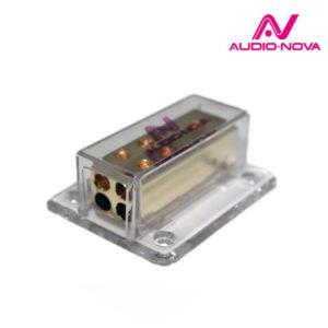 audio-nova DB6.G Распределитель питания, вход 1х4Ga (до 20мм²) — выход 4х8Ga (2х10мм²), для автомобильных аудио систем 12В.