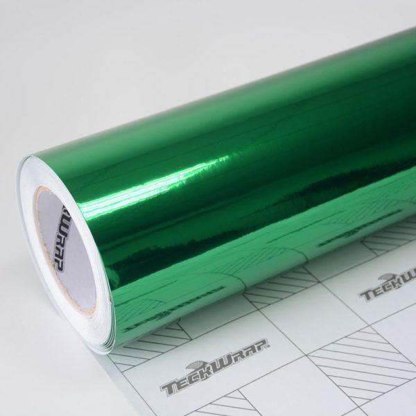 Пленка Зеркальный хром зеленый TeckWrap - Green - CHM13E