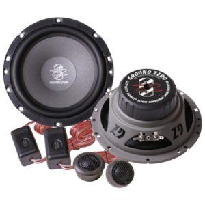 Ground Zero GZTC 165TX - двухполосная компонентная акустическая система.