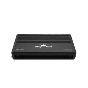 Kingz Audio TSR-100.2 Компактный 2-канальный усилитель звука для аудио системы автомобиля