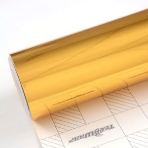 Пленка Зеркальный хром золотой TeckWrap - Yellow Gold - CHM02E