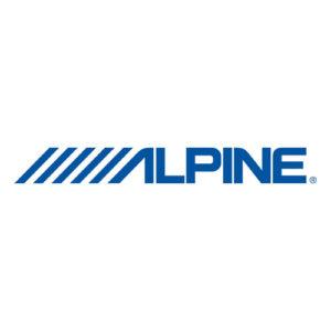 Alpine сабвуферный динамик