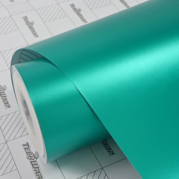 Пленка Матовый хром изумрудный TeckWrap - Emerald Green - VCH305