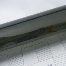 Пленка Зеркальный хром черный TeckWrap - Cedar Grey - CHM19E