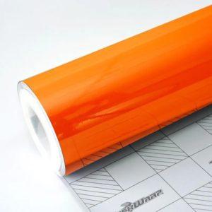 Глянцевая пленка оранжевая TeckWrap - Orange - CG04