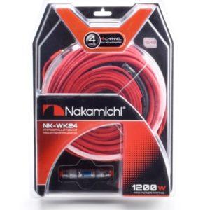 Nakamichi NK-WK24/набор проводов для подкл. 4х кан. усилителя 4Ga