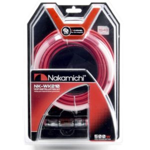 Nakamichi NK-WK210/набор проводов для подкл. 4х кан. усилителя 10Ga