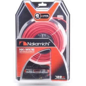 Nakamichi NK-WK18/набор проводов для подкл. 2х кан.усилителя 8Ga