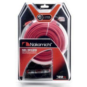 Nakamichi NK-WK28/набор проводов для подкл. 4х кан. усилителя 8Ga