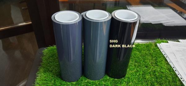 Полиуретан фарный SHG DARK BLACK 25% цвет темно-черный ширина 0,3м