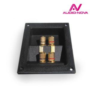 Audio Nova SCT5 Конфигурация : Акустический терминал - 4-х контактный - Позолоченные клеммы - Размер 95х122мм