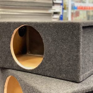 Короб под сабвуфер размером 10 дюймов