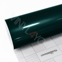 Пленка Зеркальный хром темно-зеленый TeckWrap CHM06E Emerald Black Green
