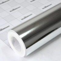Пленка Зеркальный хром серебро TeckWrap - White Gold - CHM01E
