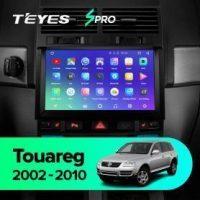 Штатная магнитола (ШГУ) на ОС Android Teyes CC2 Lite 1/16 volkswagen touareg 2002-2010
