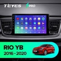 Штатная магнитола (ШГУ) на ОС Android Teyes cc2 lite 1/16 kia rio cross 2016-2020