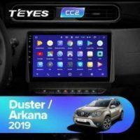 Штатная магнитола (ШГУ) на ОС Android Teyes CC2 Lite 2/32 renault duster arkana 2019+