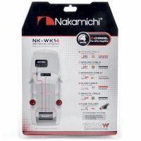 Nakamichi NK-WK14 Nakamichi NK-WK14/набор проводов для подкл. 2х кан. усилителя 4Ga