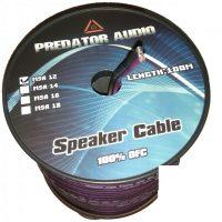 Акустический кабель (БУХТА 100 метра) Predator Audio 2*4 кв.мм медь