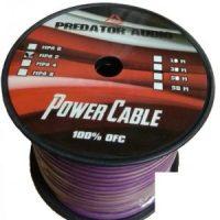 Силовой кабель (БУХТА 15 метров) Predator Audio 0Ga OFC