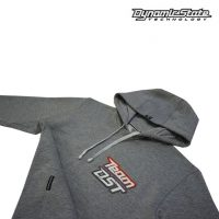 Dynamic State Худи с капюшоном серый меланж Медведь Team-DST