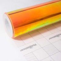 Пленка Радужный хром оранжевый TeckWrap - Amber Citrine - MCH05