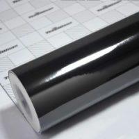 Пленка Зеркальный хром черный TeckWrap - Steel Jet Black - CHM10E