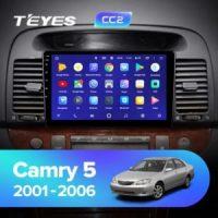 Штатная магнитола (ШГУ) на ОС Android Teyes CC2 Lite 1/16 Toyota Corolla 2001-2006