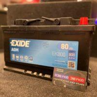 Аккумулятор Exide AGM EK800