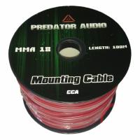 Монтажный кабель (БУХТА 100 метра) Predator Audio 18GA Аллюминий